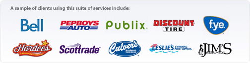 This suite of services is featured at the following websites: